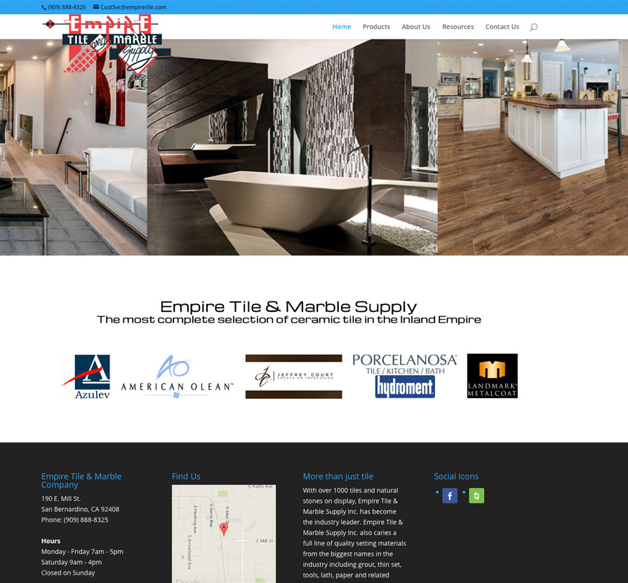 Us Ceramic Tile Company Website Tile Design Ideas
